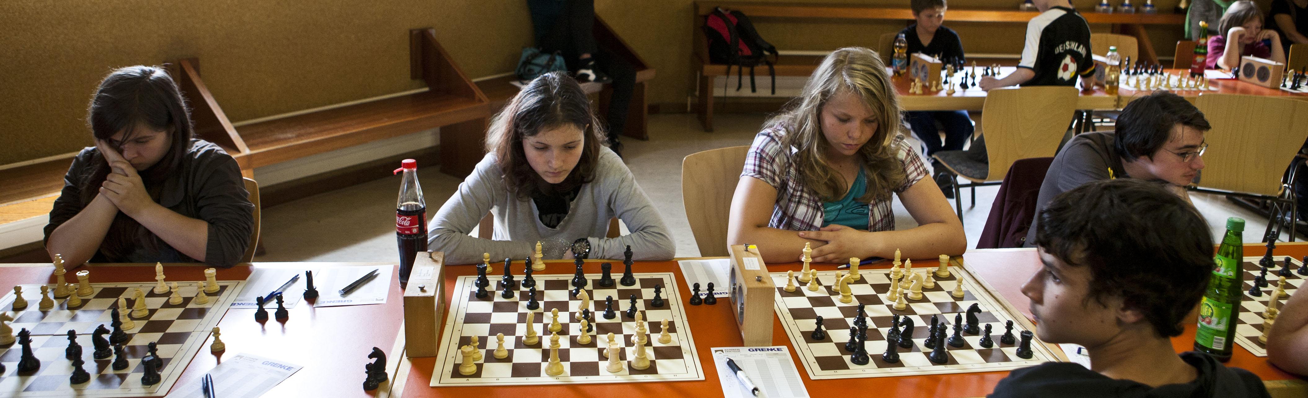 U16-Mannschaft in Aktion