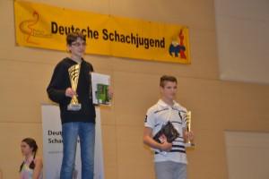 Emil Schmidek und Julian Martin