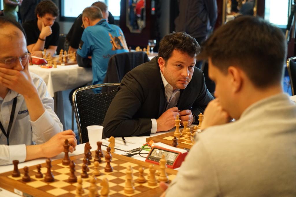 Mit seinem Sieg gegen Kovacs war die 11. Meisterschaft perfekt: Etienne Bacrot