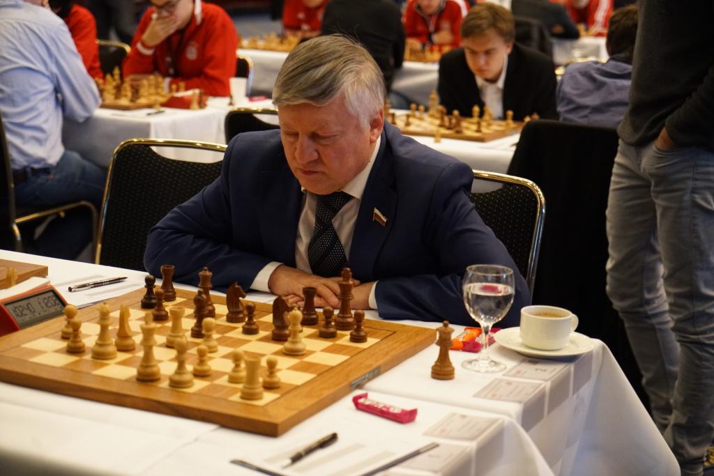 """Die """"Legende"""" war auch da: Anatoly Karpov, der erfolgreichste Turnierspieler aller Zeiten!"""