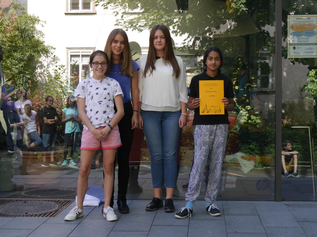 V.l.n.r.: Kassandra, Anastasia, Monica, Mry