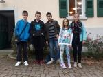 v.l. Victor, Moritz, Raja, Helene und Anastasia