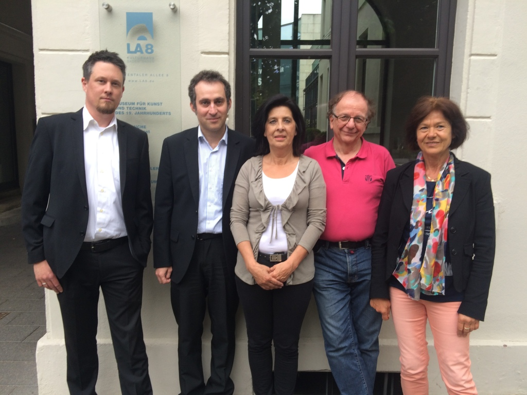 Der OSG-Vorstand, Sebastian Ludwig, Patrick Bittner, Petra Jurga, Walter Siemon, Irene Steimbach (v.l.n.r.)